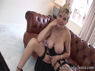 Preview Lady Sonia - Obsessed With His Aunts Big Tits